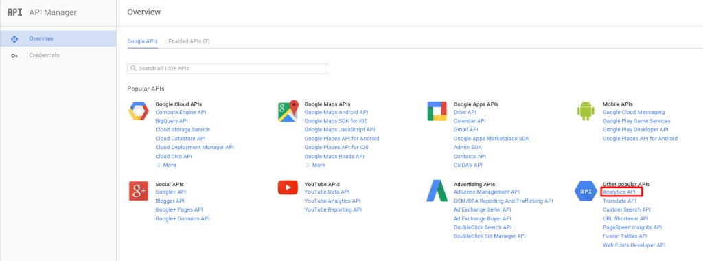 Dashboards: Google Analytics | Support SALESmanago