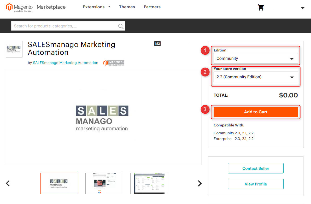 Integration with Magento 1 and Magento 2 | Support SALESmanago